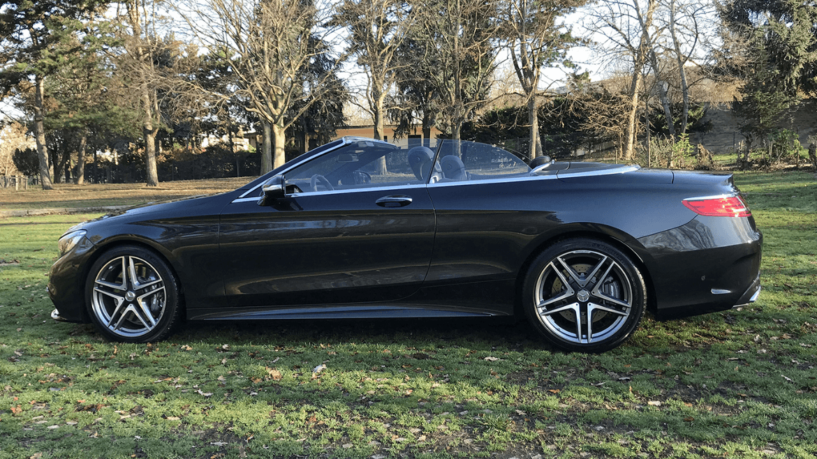 Mercedes S63 CABRIOLET